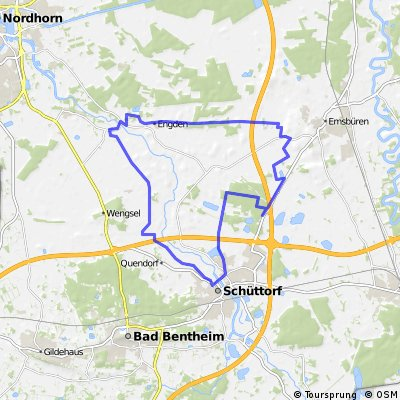 Grafschafter Fietsentour 4 ca. 35km