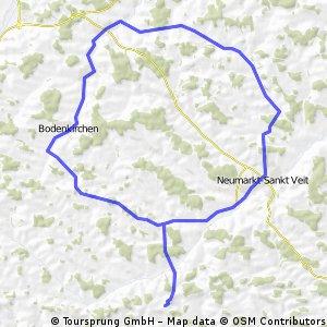 nördlicher Landkreis Radtour