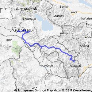 Armenia - południe