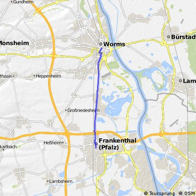 Heimweg Wo-BoRo-FT direkt