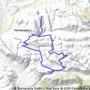Giro del matese Ovest - S.Agapito-Letino passando per campo figliuolo