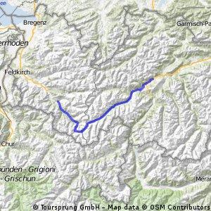 Rundfahrt Tag 2 - Schruns - Schönwies