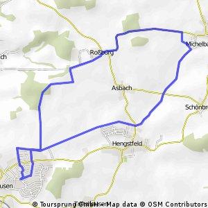 Wallhausen - 10km-Rundfahrt
