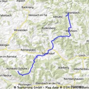 Von Aichwald zum Ebnisee