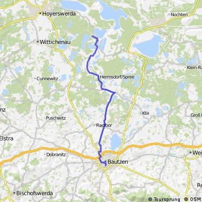 Lohsa - Bad Schandau(Etappe 1)