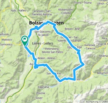 Kaltern'12/Tour1: Passo San Lugano, Alpe di Pampeago, Reiterjoch