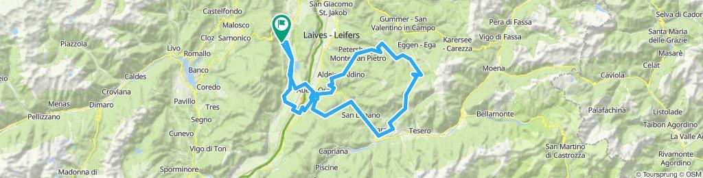 Kaltern'12/Tour 4: Salite Trodena, Passo SanLugano, Passo di Lavaze