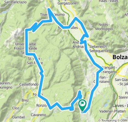 Kaltern'12/Tour 2: Mendel- und Gampen-Pass