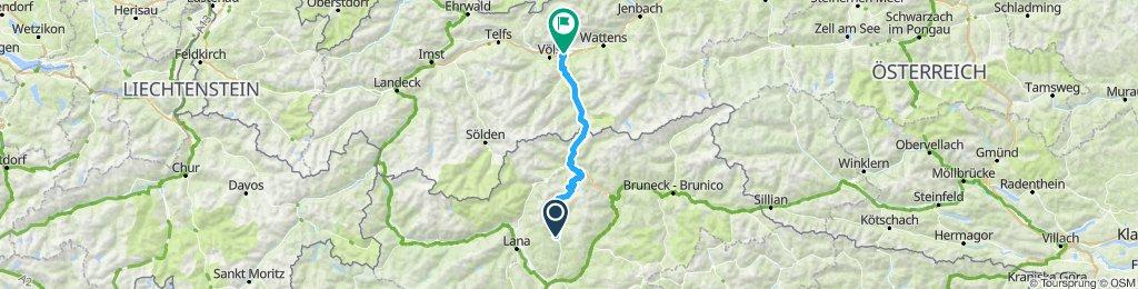 Kaltern'12/Tour 5: PenserJoch u. Brenner