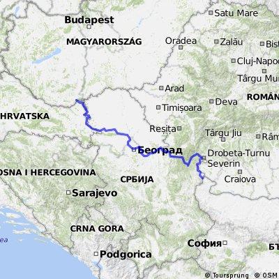 Seidenstraße 04 Kroatien-Serbien CLONED FROM ROUTE 1409212