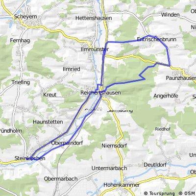 Steinkirchen, Reichertshausen, Enrischenbrunn,Steinkirchen
