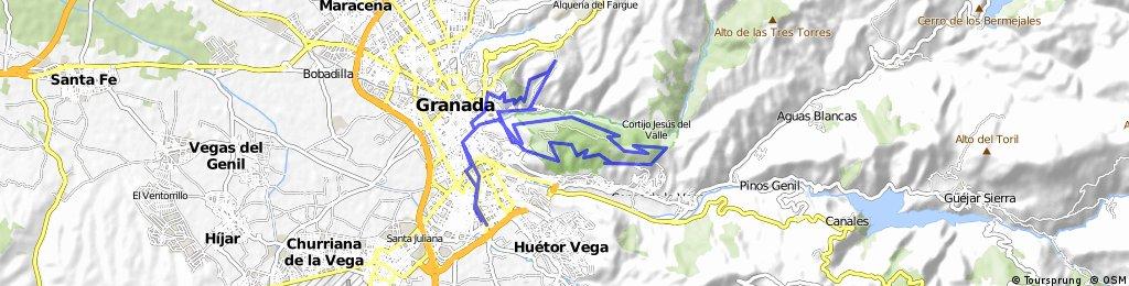 GR223-Llano de la Perdiz-Sacromonte 10/05/09