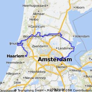 Tandem: Amsterdam-Haarlem