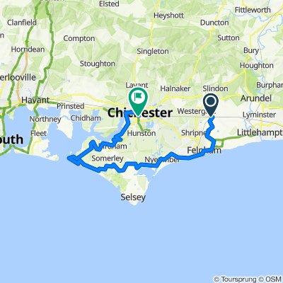 Barnham to Chichester