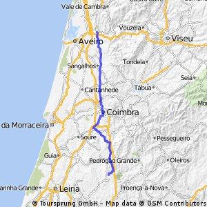 Camino Portugués interior. Etapa 2.
