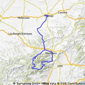 Etapa 1 Por el interior de Cataluña