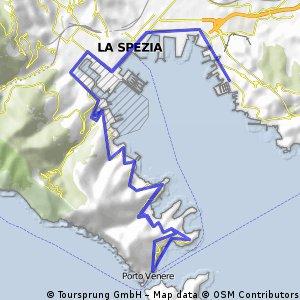 Viale San Bartolomeo to Portovenere return