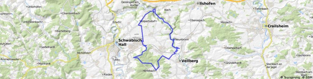 Bühlerbachrunde bei Schwäbisch Hall