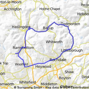 Todmorden and back