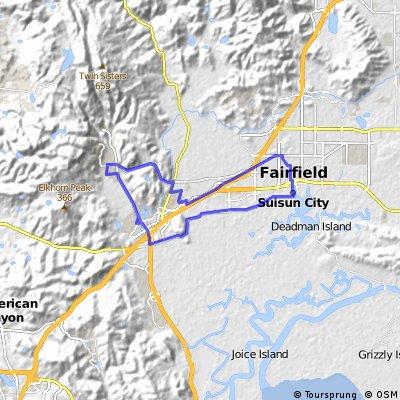 Home-Suisun-Rockville-Home Loop