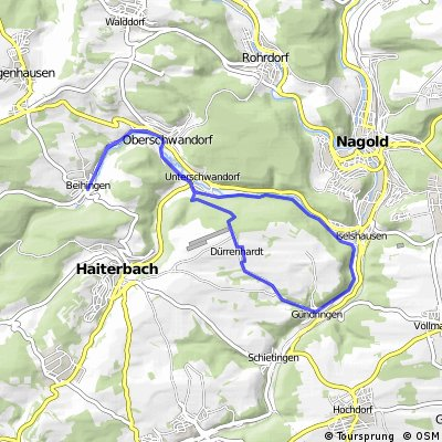 Beihingen-Iselshausen-Gündringen-Beihingen