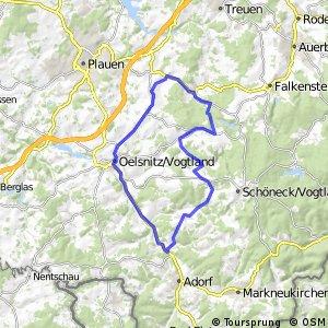 Rund um Oelsnitz/Vogtland