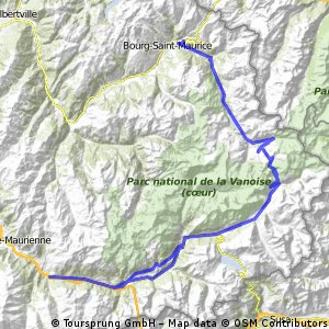 2012.09.09 lang bourg saint maurice - saint michel maurienne
