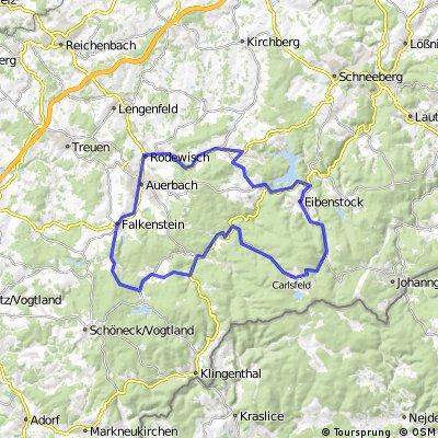 Ausgewogene Trainingsrunde durchs Vogtland