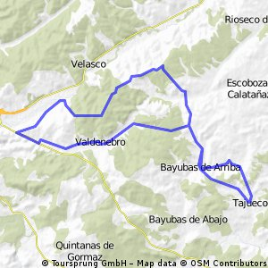 Tajueco-Boos-Valdenarros -Valdenebro -Bayubas - Tajueco