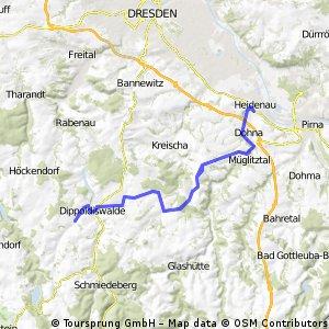 Reichstädt - Heidenau -Reichstädt