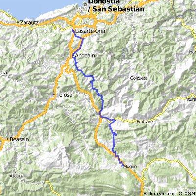 Viaje Huesca (1)  Lasarte-Lekunberri