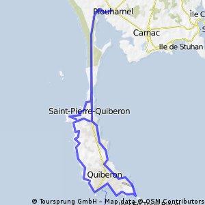 tour de presqu'île