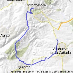 VALDEMORILLO-QUIJORNA-LA CAÑADA 26-08-12