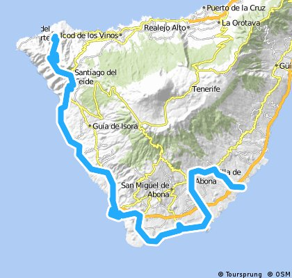 vuelta a tenerife stage 2