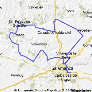 Santa Marta - Los Baños - La Velles - Santa Marta