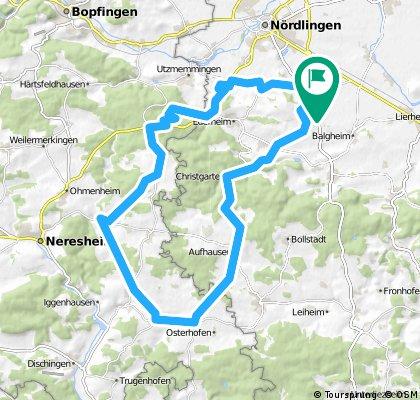 Reimlingen- Ederheim-Dehlingen-Dunstelkingen-Eglingen- Christgarten-Reimlingen