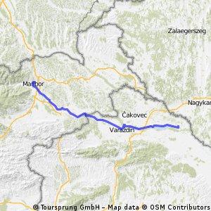 Drau-Mur-Drau (6/10) - D.Dubrava>Maribor CLONED FROM ROUTE 613013