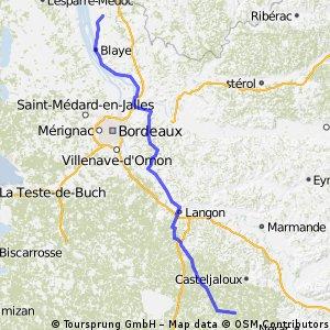 Braud-et-Saint-Louis to Houeilles