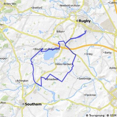 hillmorton to hillmorton via grandborough