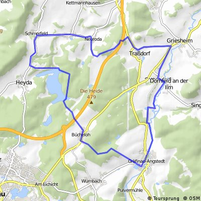 Gräfinau-Traßdorf-StauseeHeyda-Gräfinau