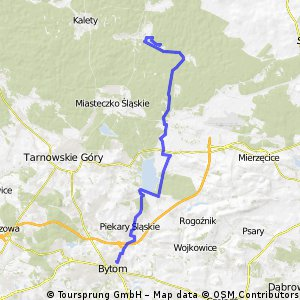 Trasa Bytom - Zielona CLONED FROM ROUTE 1587276