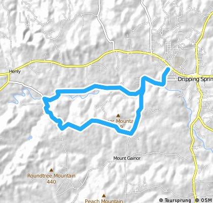 Dripping Springs - Creek Rd-Mt. Gainor Rd