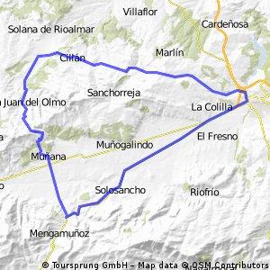 Chamartin-Narros- Avila