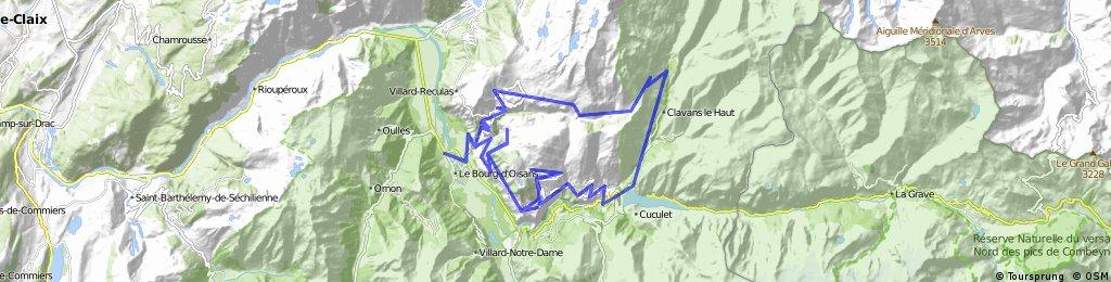 Col de la Sarenne, Auris, and Maronne