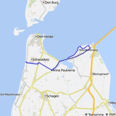 Vom Ijsselmeer zur Nordsee und zurück