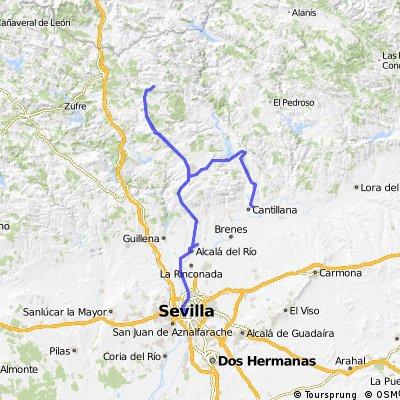 Día 1: Sevilla -Almadén.Día 2: Almadén - Cantillana