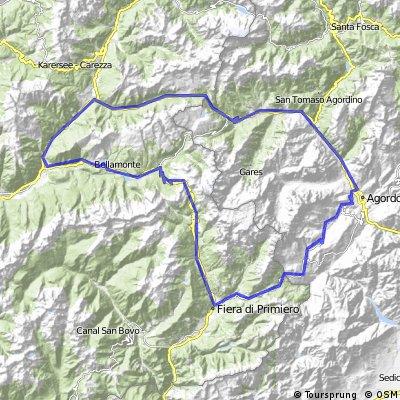 Passo Pellegrino - Ceredo - Rolle