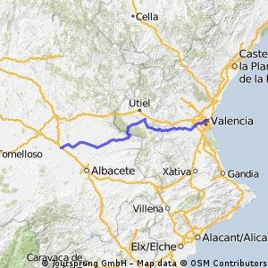 Etapa 2 : Valencia - La Roda