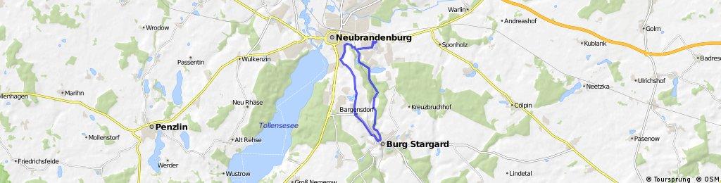 Burg Stargard - Bargensdorf - Fünfeichen