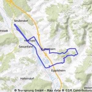 Schießberg und Kanalroute